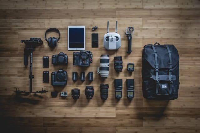 Комплект фотографа