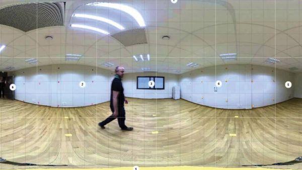 Изображение с камеры 360 градусов