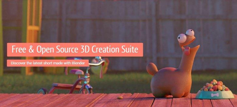 Создание трехмерный объктов в видеоредакторе - Blender