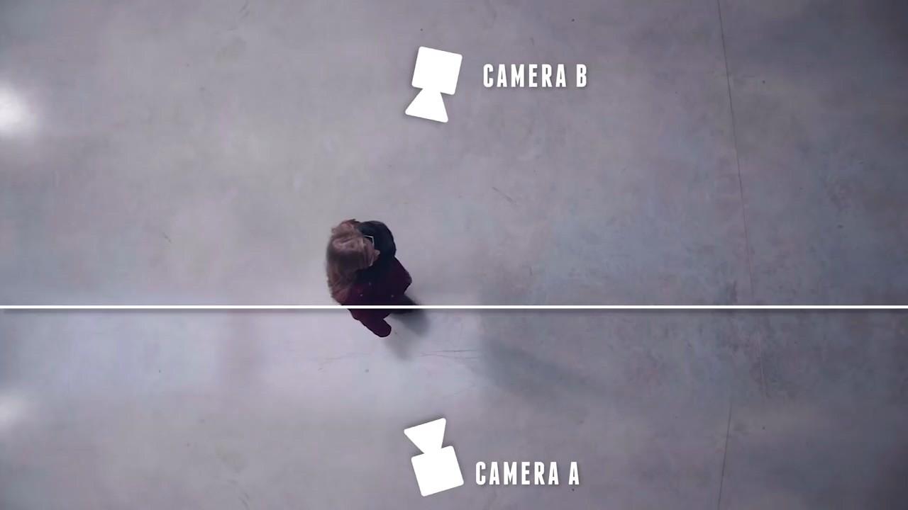 Камеры с двух сторон