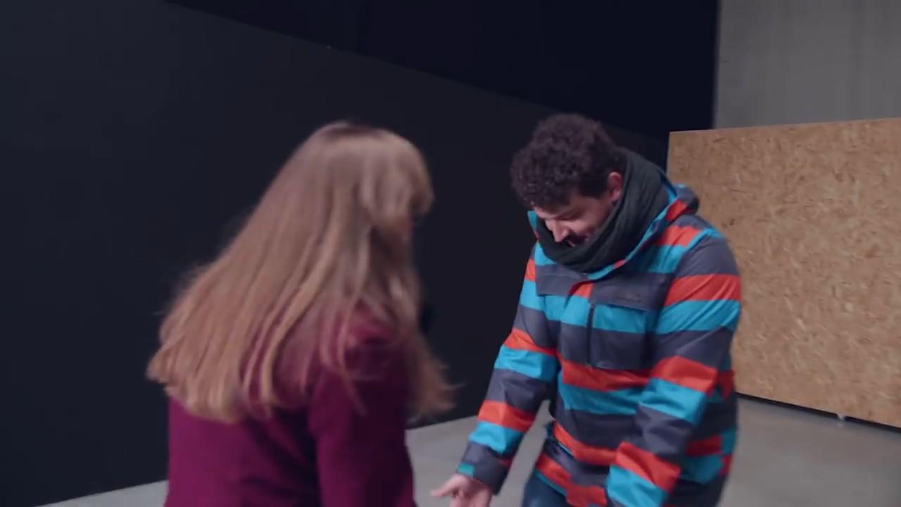 Съемка конфликта, кадр второй