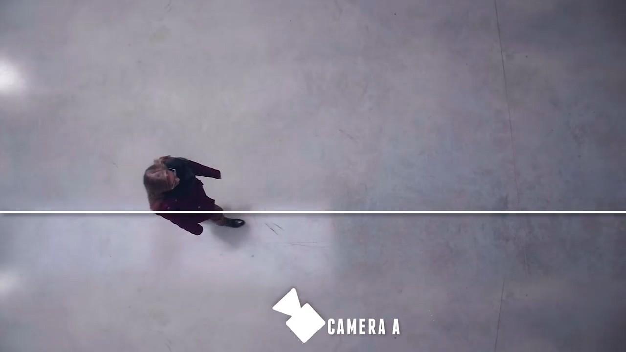 Расположение камеры во время съемки