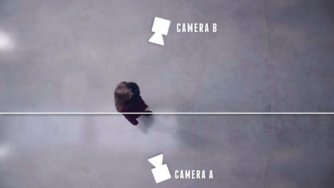 Расположение двух камер
