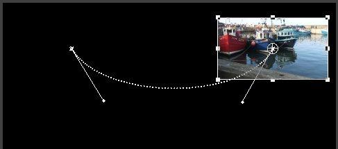 Перемещение кривой Безье