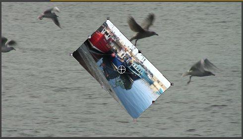 Поворот клипа вокруг Anchor Point
