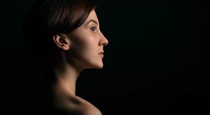 Портрет, сделанный в технике кьяроскуро